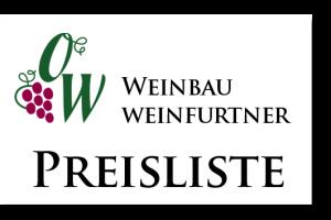 Preisliste Rotwein Weißwein Frankenwein Weinfurtner Elsenfeld Rück Schippach